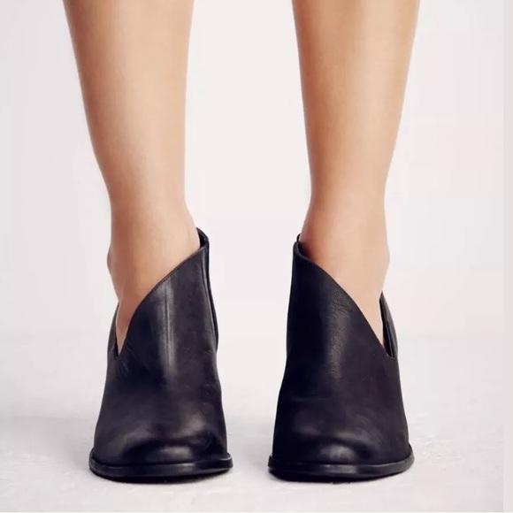 Free People Ankle Booties Sz 36 Low Cut